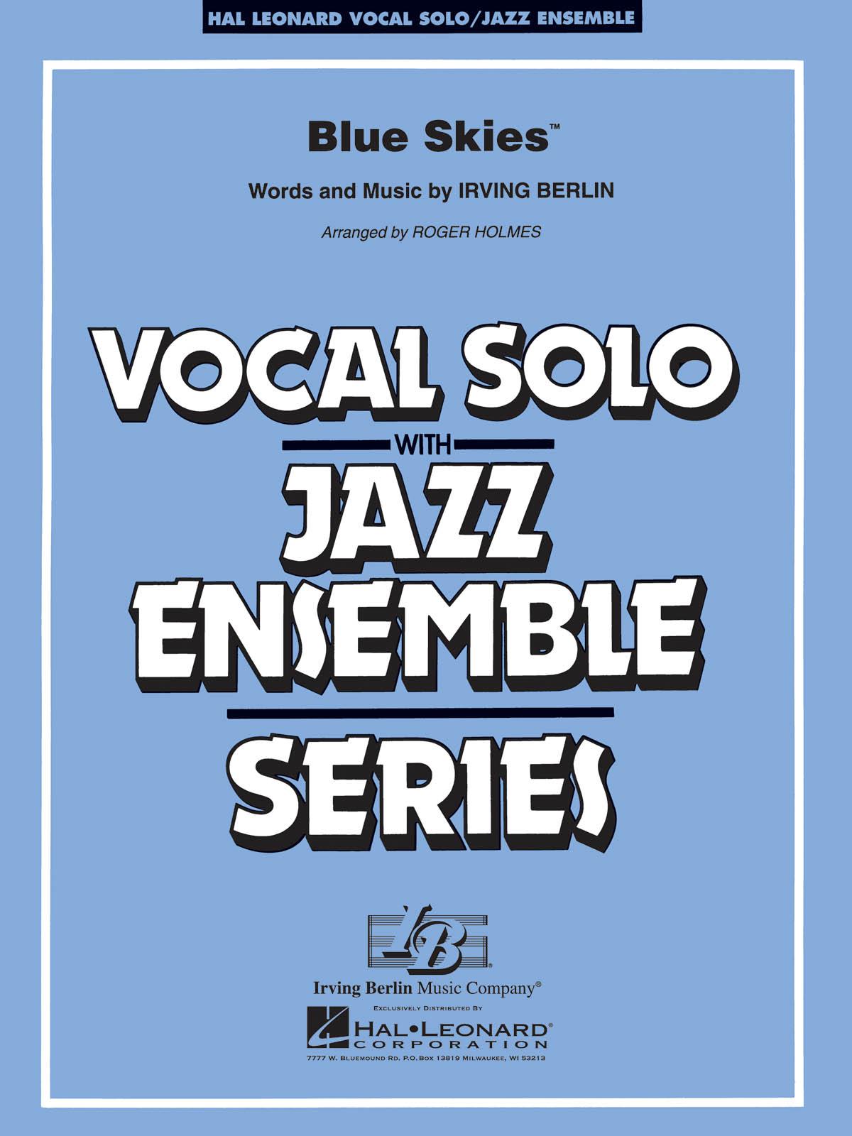 Irving Berlin: Blue Skies: Jazz Ensemble: Score