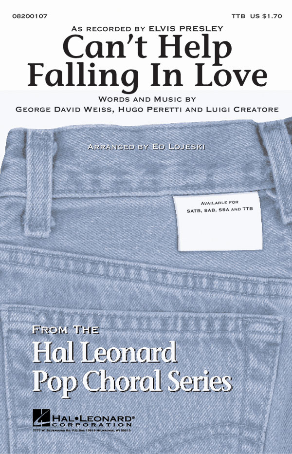 George David Weiss Hugo Peretti Luigi Creatore: Can't help falling in love:
