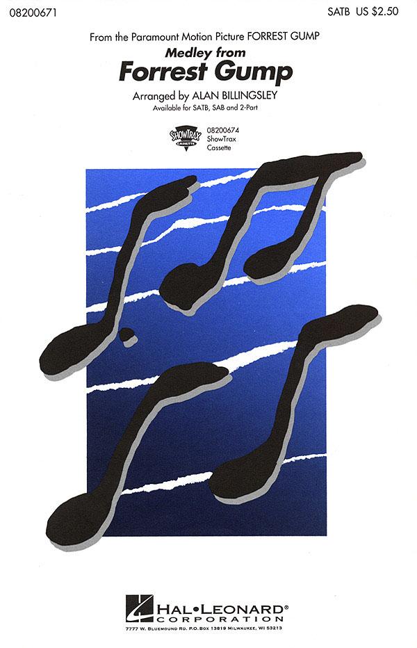 Forrest Gump (Medley): Mixed Choir a Cappella: Vocal Score