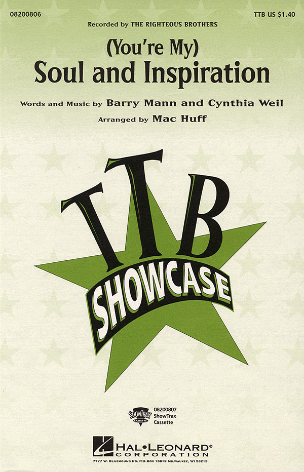 Barry Mann Cynthia Weil: You're My Soul and Inspiration: Lower Voices a