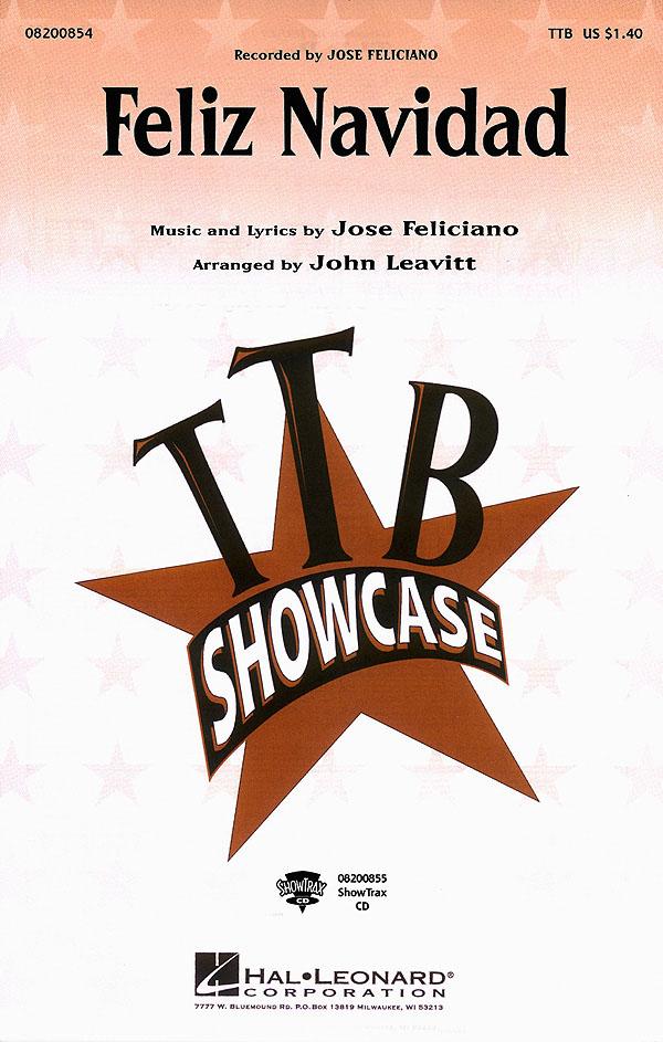 José Feliciano: Feliz Navidad: Lower Voices a Cappella: Vocal Score