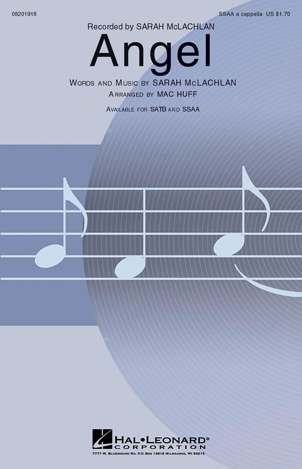 Sarah McLachlan: Angel (a.c.): Upper Voices a Cappella: Vocal Score