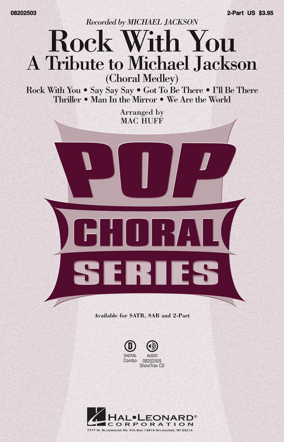 Michael Jackson: Rock with You - A Tribute to Michael Jackson: Mixed Choir a
