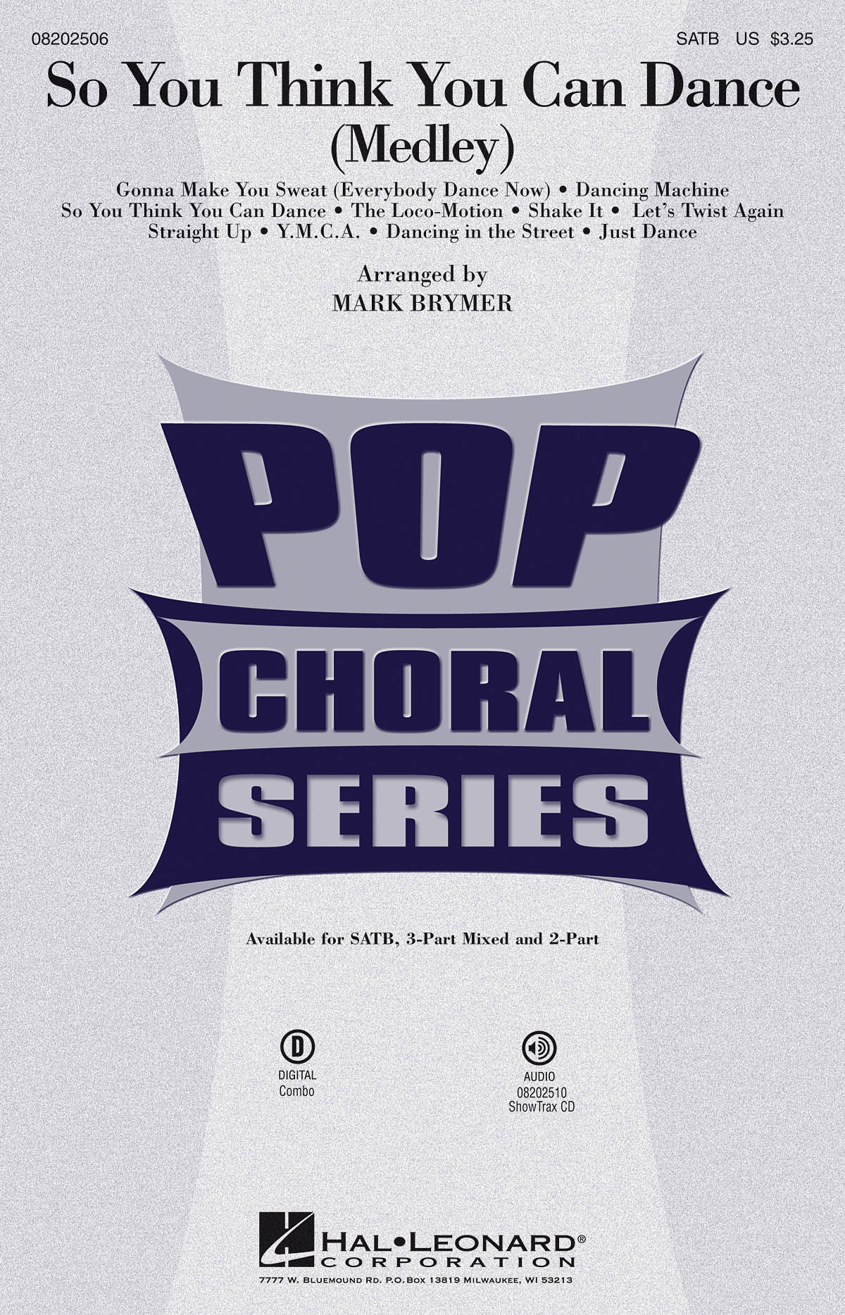So You Think You Can Dance: Mixed Choir a Cappella: Vocal Score