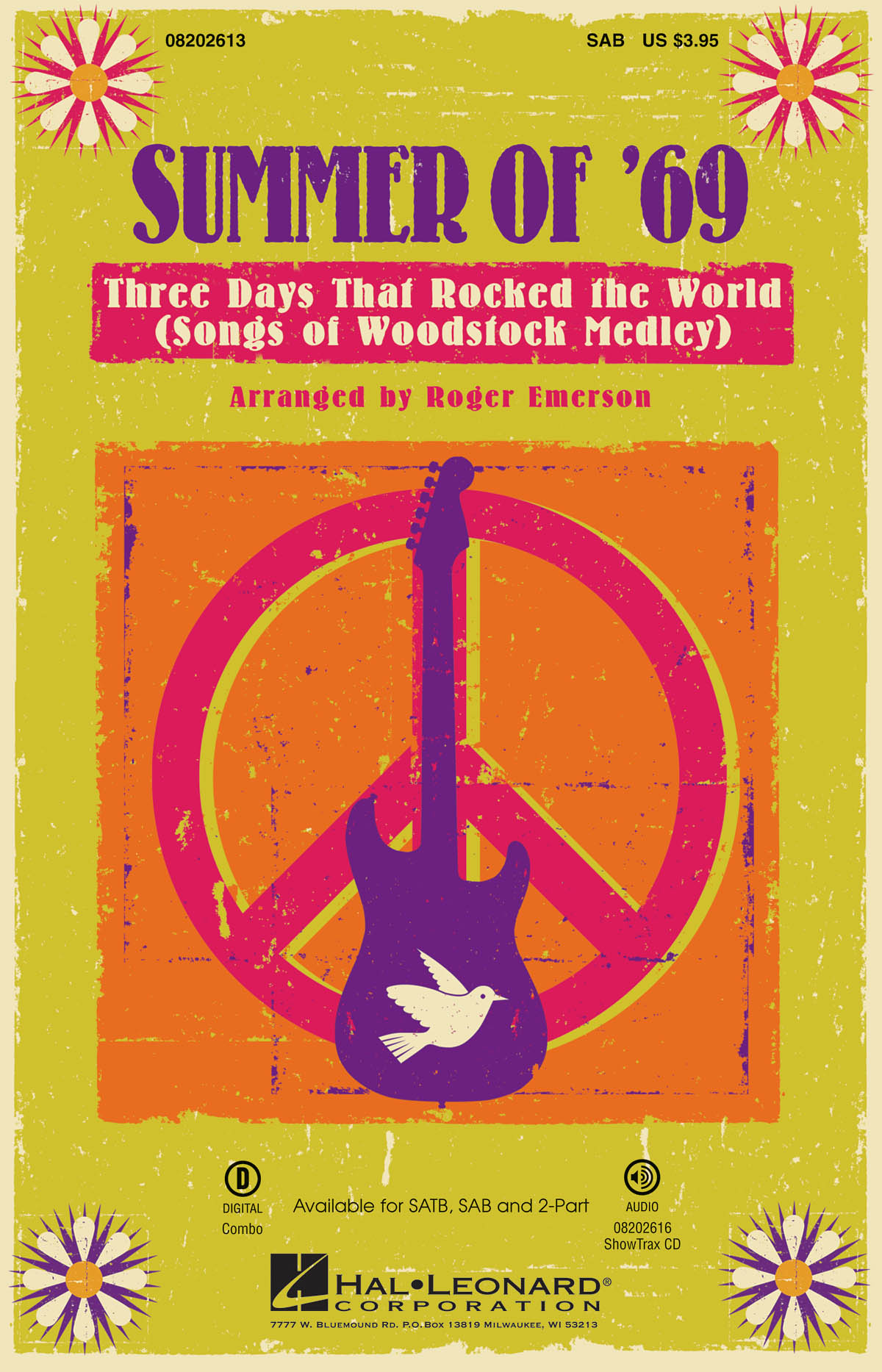 Summer of '69 - Three Days That Rocked the World: Mixed Choir a Cappella: Vocal