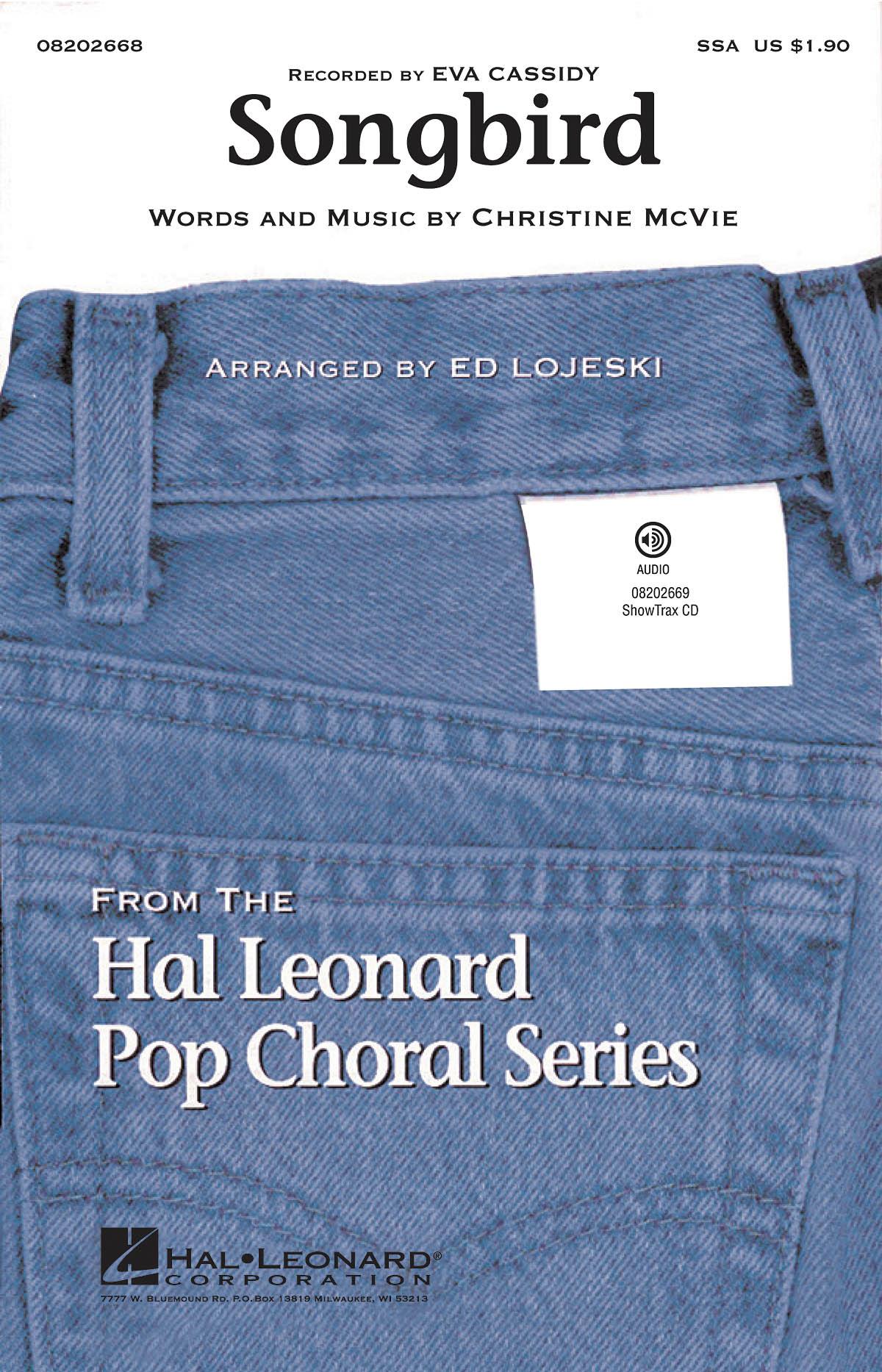 Eva Cassidy: Songbird: Upper Voices and Piano/Organ: Vocal Score