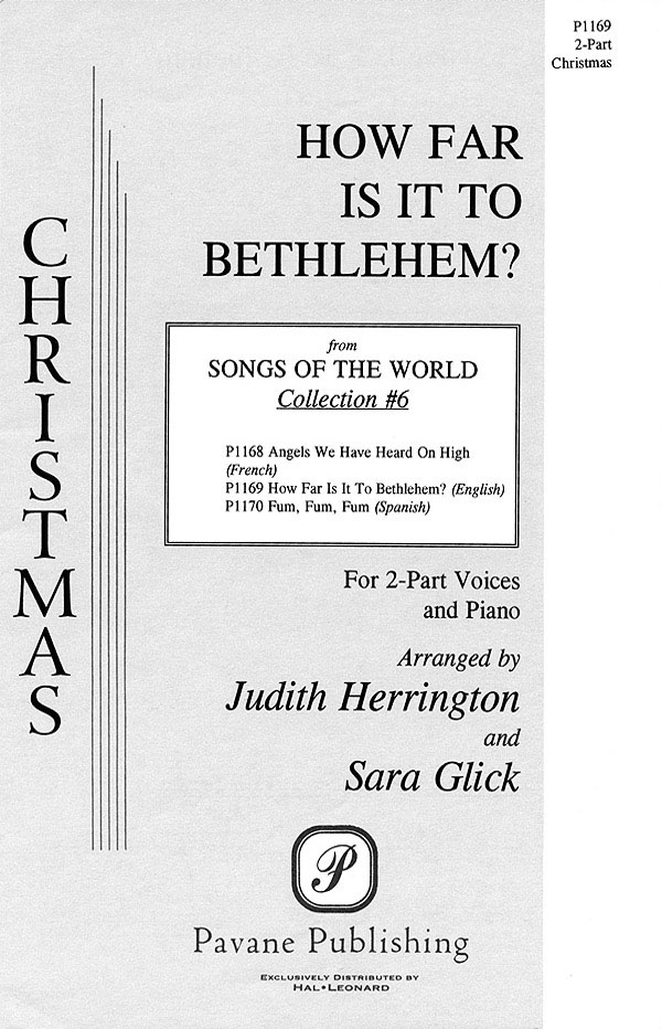 How Far Is It to Bethlehem?: Mixed Choir a Cappella: Vocal Score