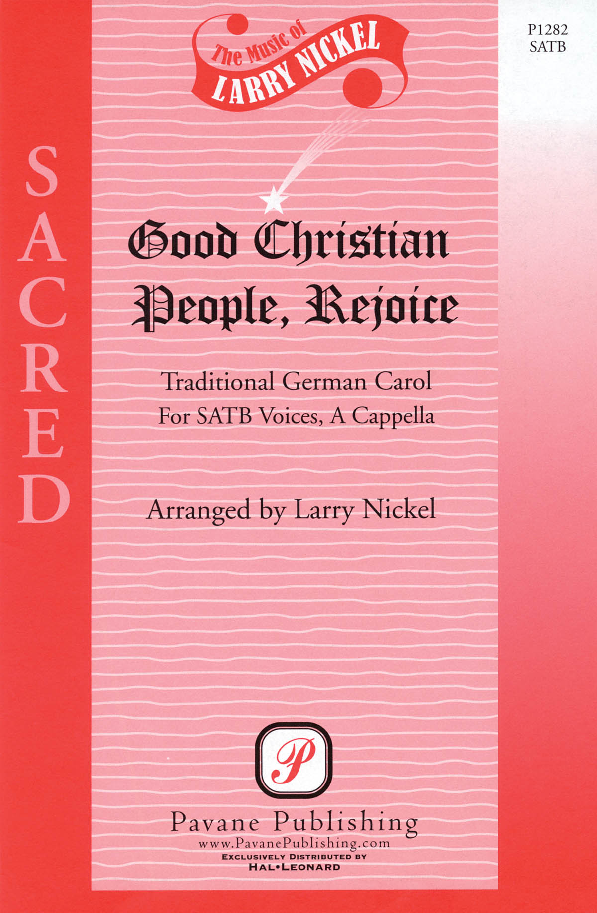 Good Christian People  Rejoice: Mixed Choir a Cappella: Vocal Score
