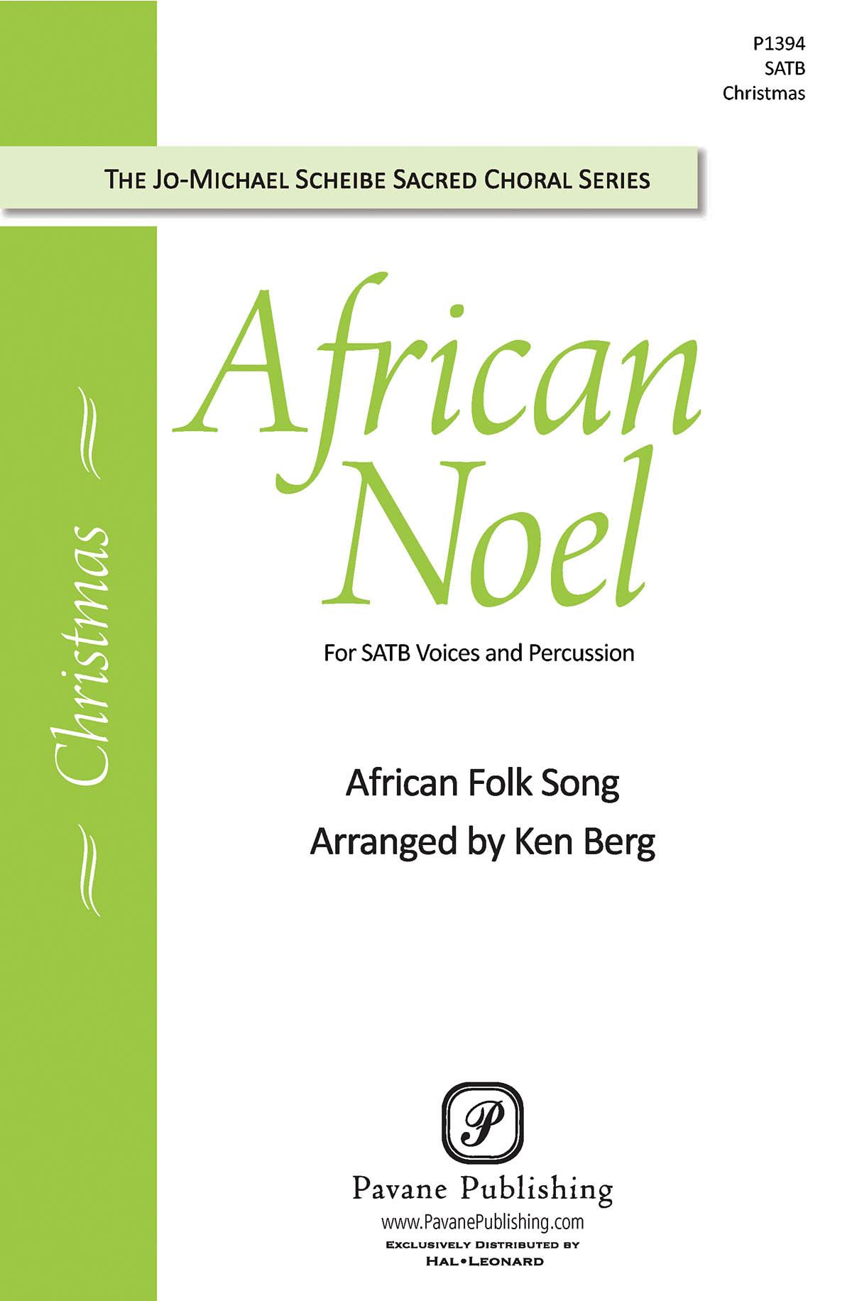 African Noel: SATB: Vocal Score