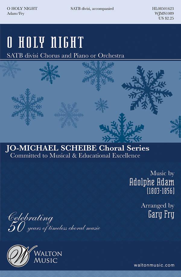 Adolphe Charles Adam: O Holy Night: SATB: Vocal Score
