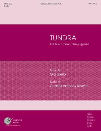 Ola Gjeilo: Tundra: String Quartet: Parts