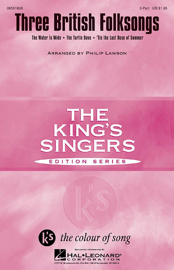 Three British Folksongs: 2-Part Choir: Vocal Score