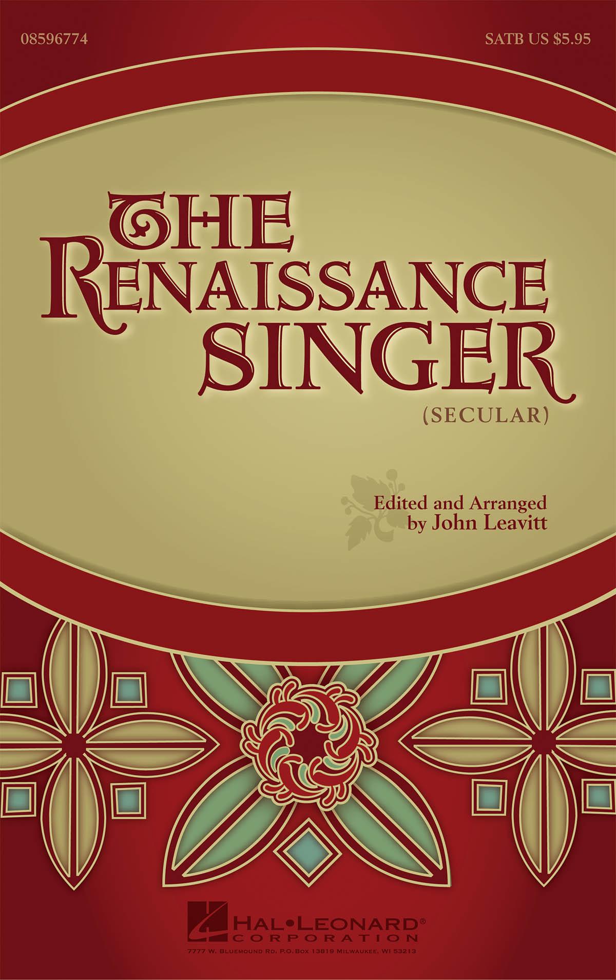 The Renaissance Singer: SATB: Score