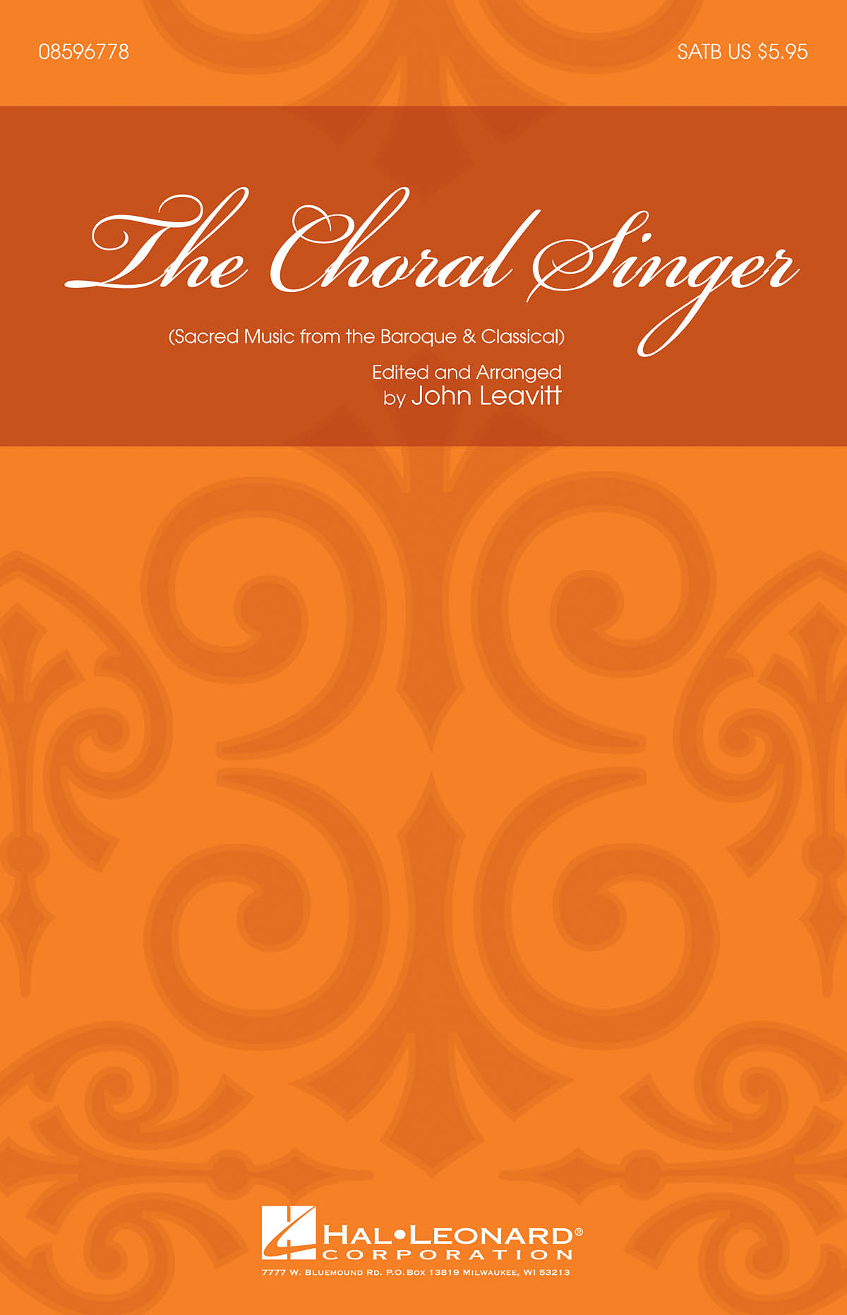 The Choral Singer: SATB: Vocal Score