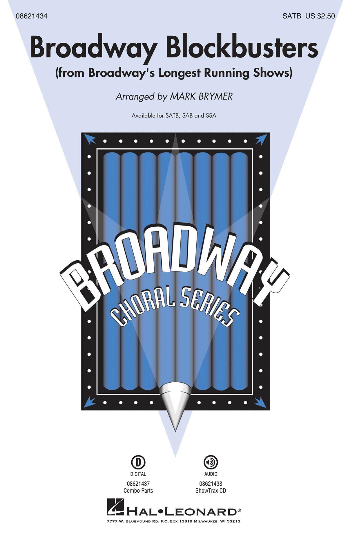 Broadway Blockbusters Medley (SATB): SATB: Vocal Score