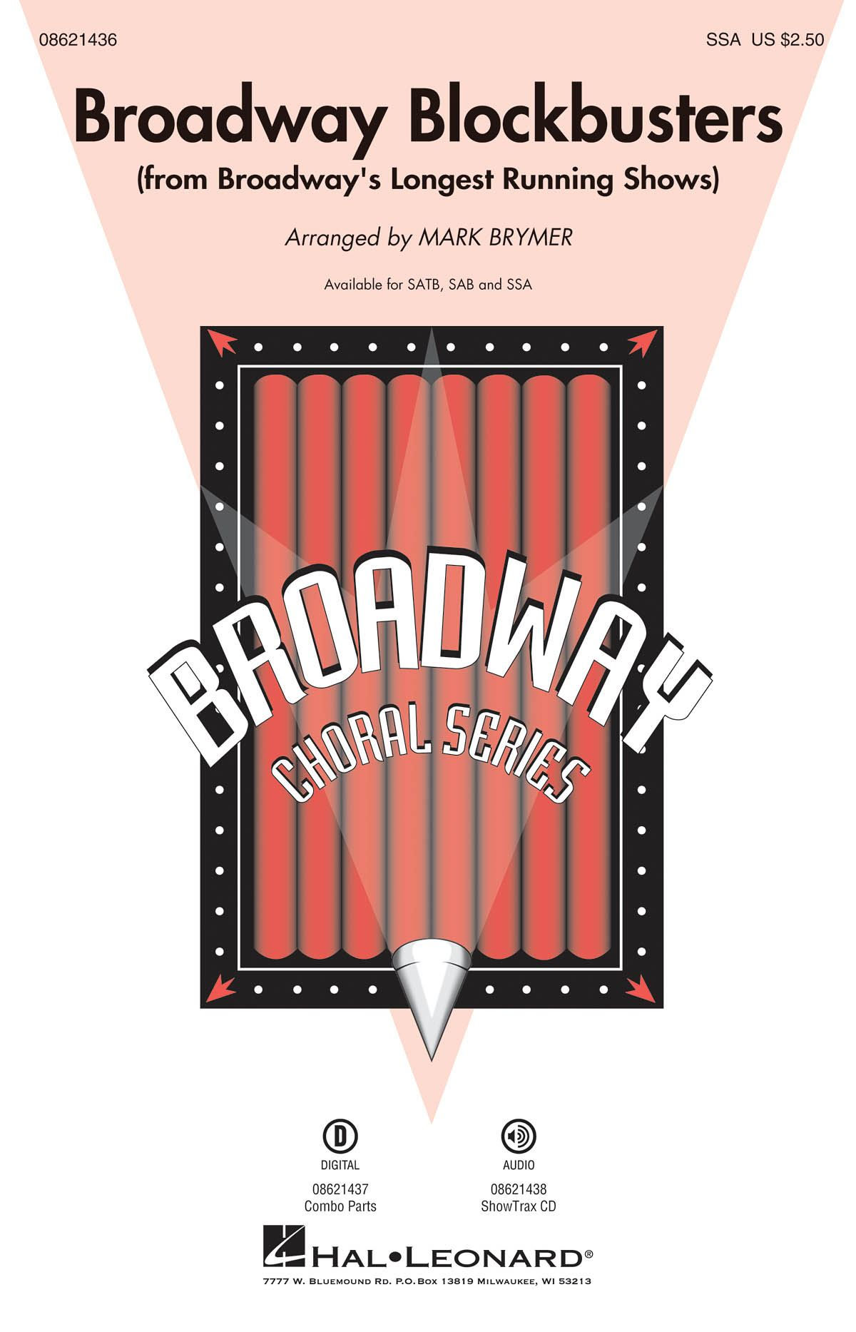 Broadway Blockbusters Medley (SSA): SSA: Vocal Score