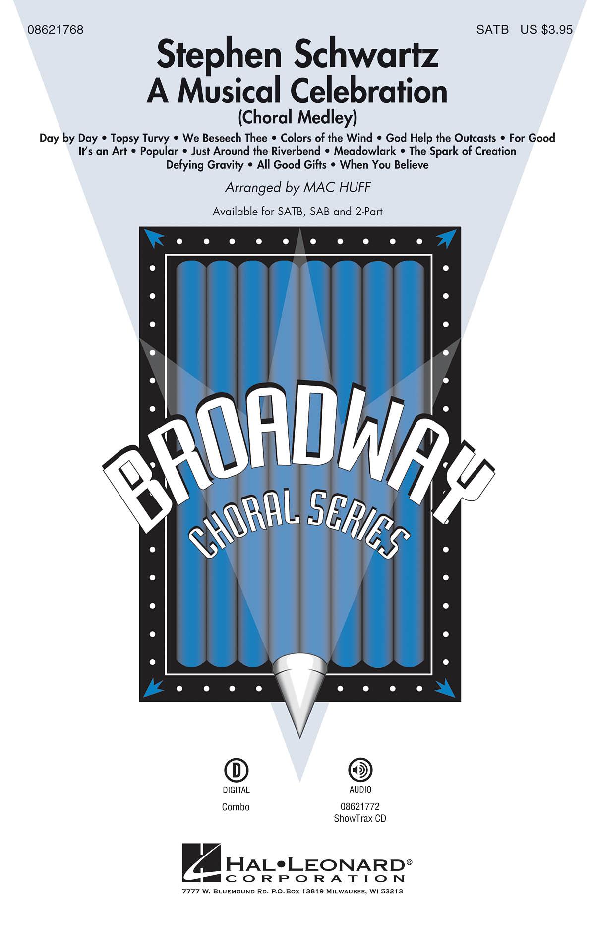 Stephen Schwartz: Stephen Schwartz - A Musical Celebration: SATB: Vocal Score