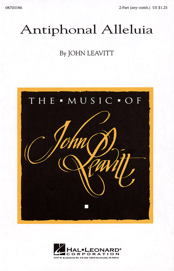Antiphonal Alleluia: 2-Part Choir: Vocal Score