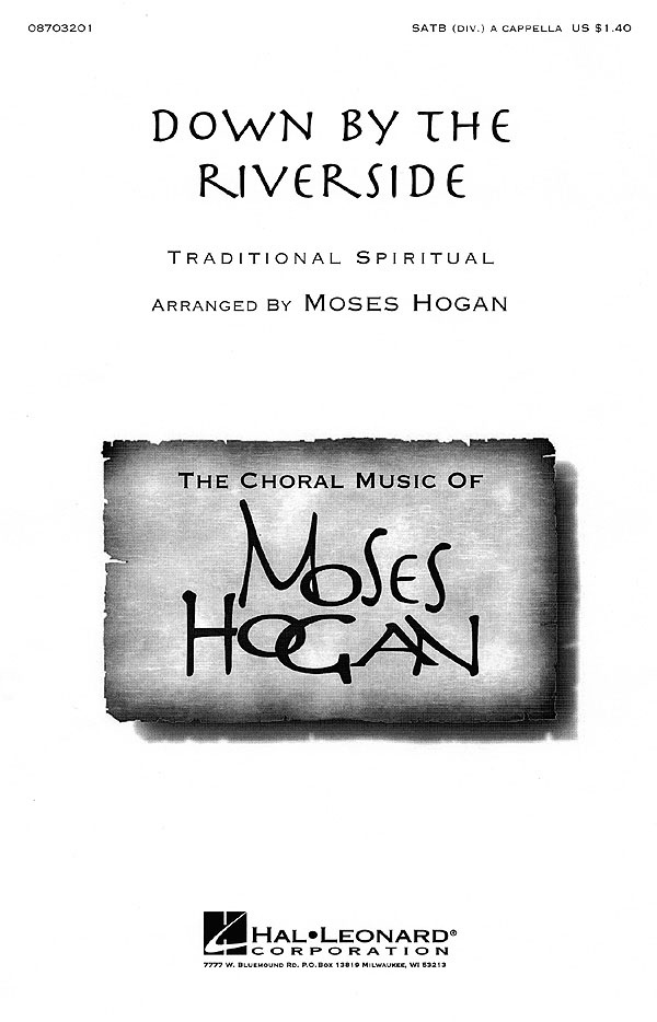 Down by the Riverside: SATB: Vocal Score
