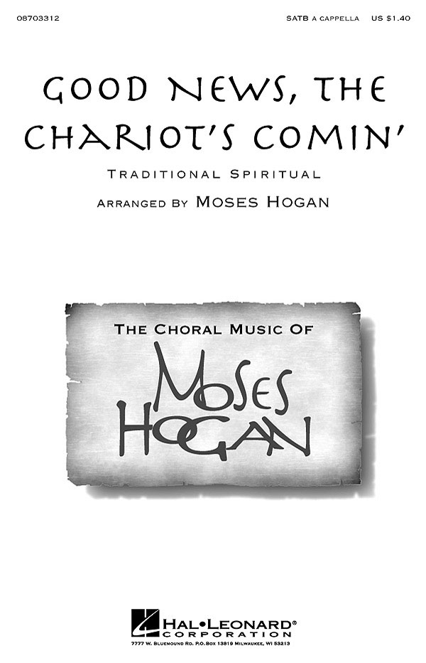 Traditional: Good News  the Chariot's Comin': SATB: Vocal Score