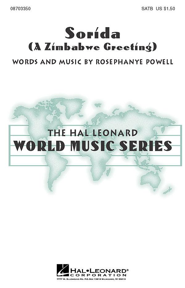 Rosephanye Powell: Sorida: SATB: Vocal Score
