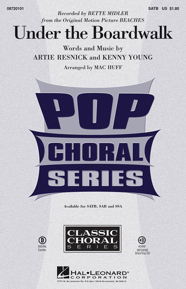 Artie Resnick Kenny Young: Under the Boardwalk: SATB: Vocal Score