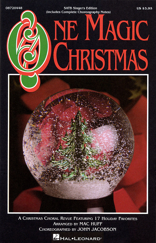 One Magic Christmas (Feature Medley): SATB: Vocal Score