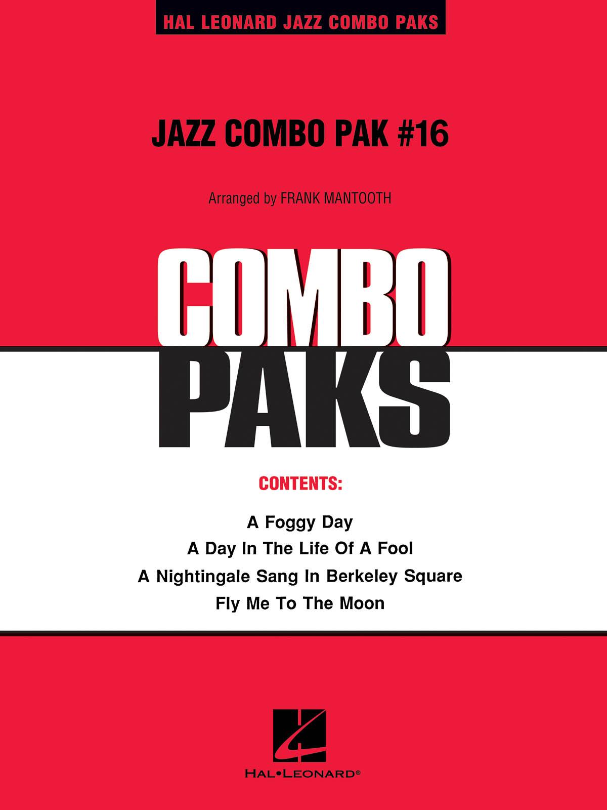 Jazz Combo Pak #16: Jazz Ensemble: Score and Parts