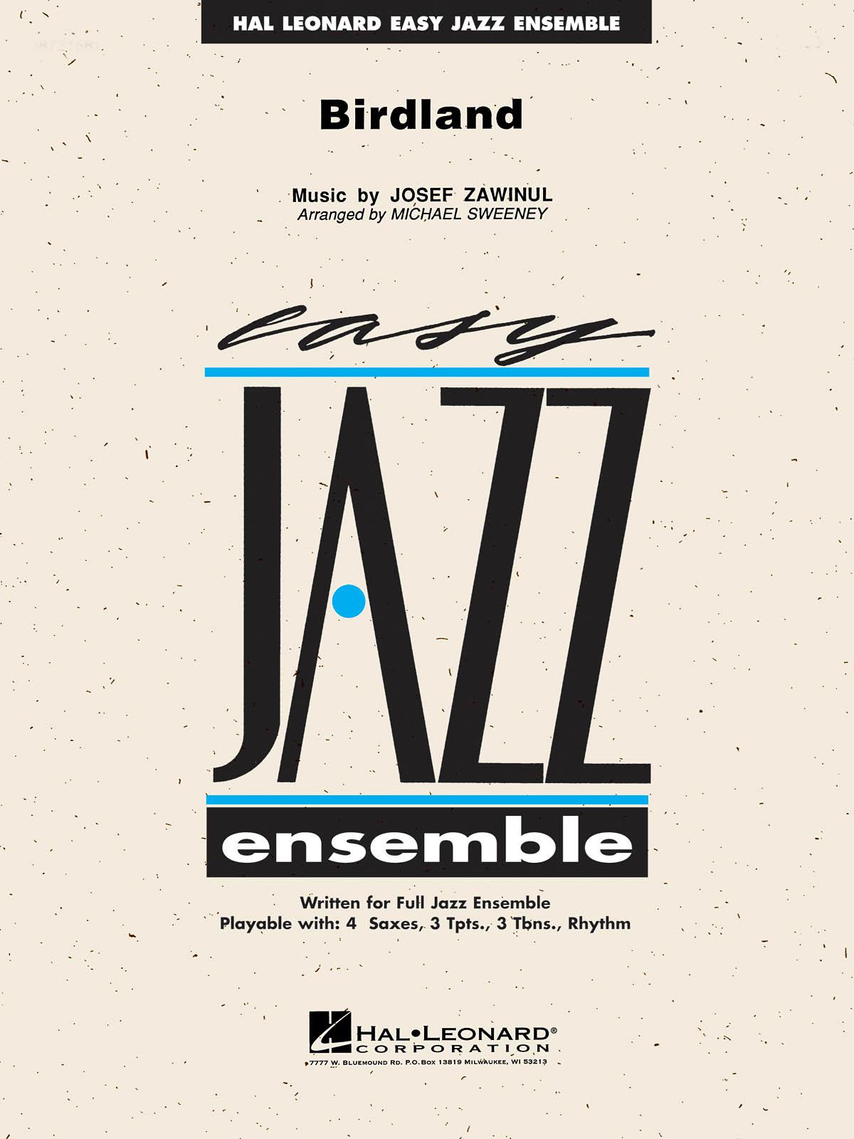 Josef Zawinul: Birdland: Jazz Ensemble: Score