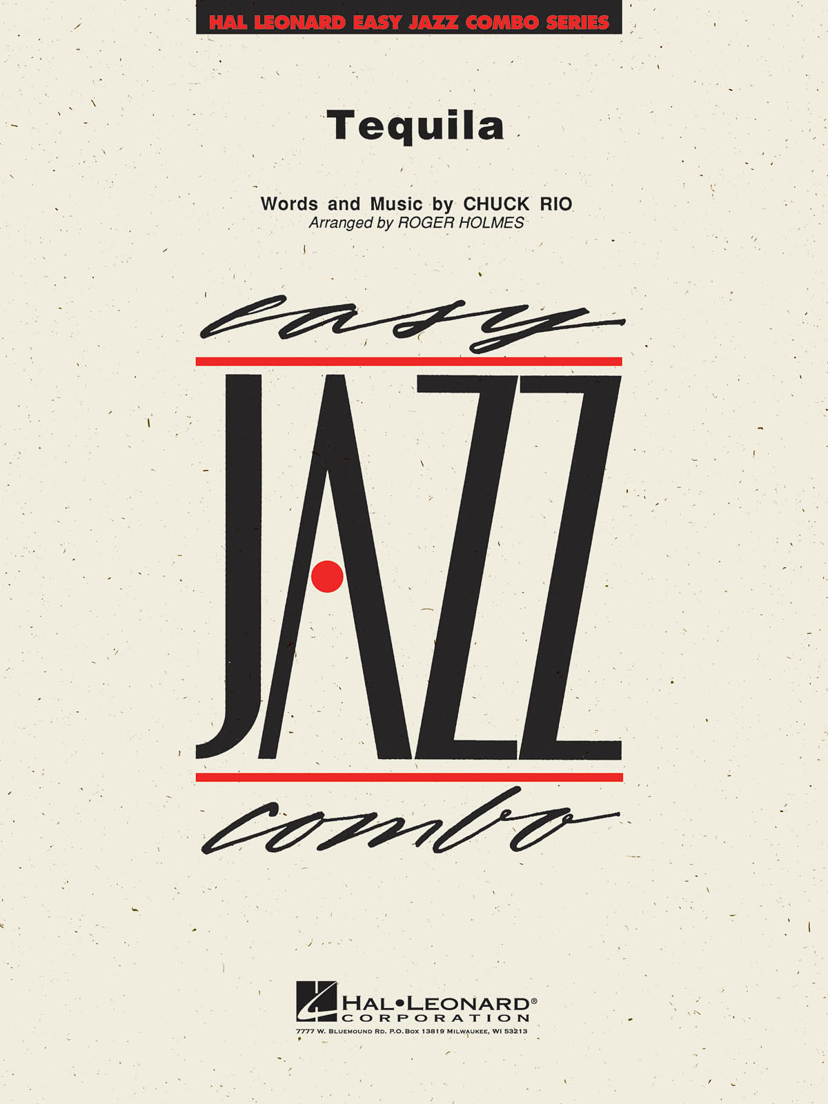 Chuck Rio: Tequila: Jazz Ensemble: Score and Parts