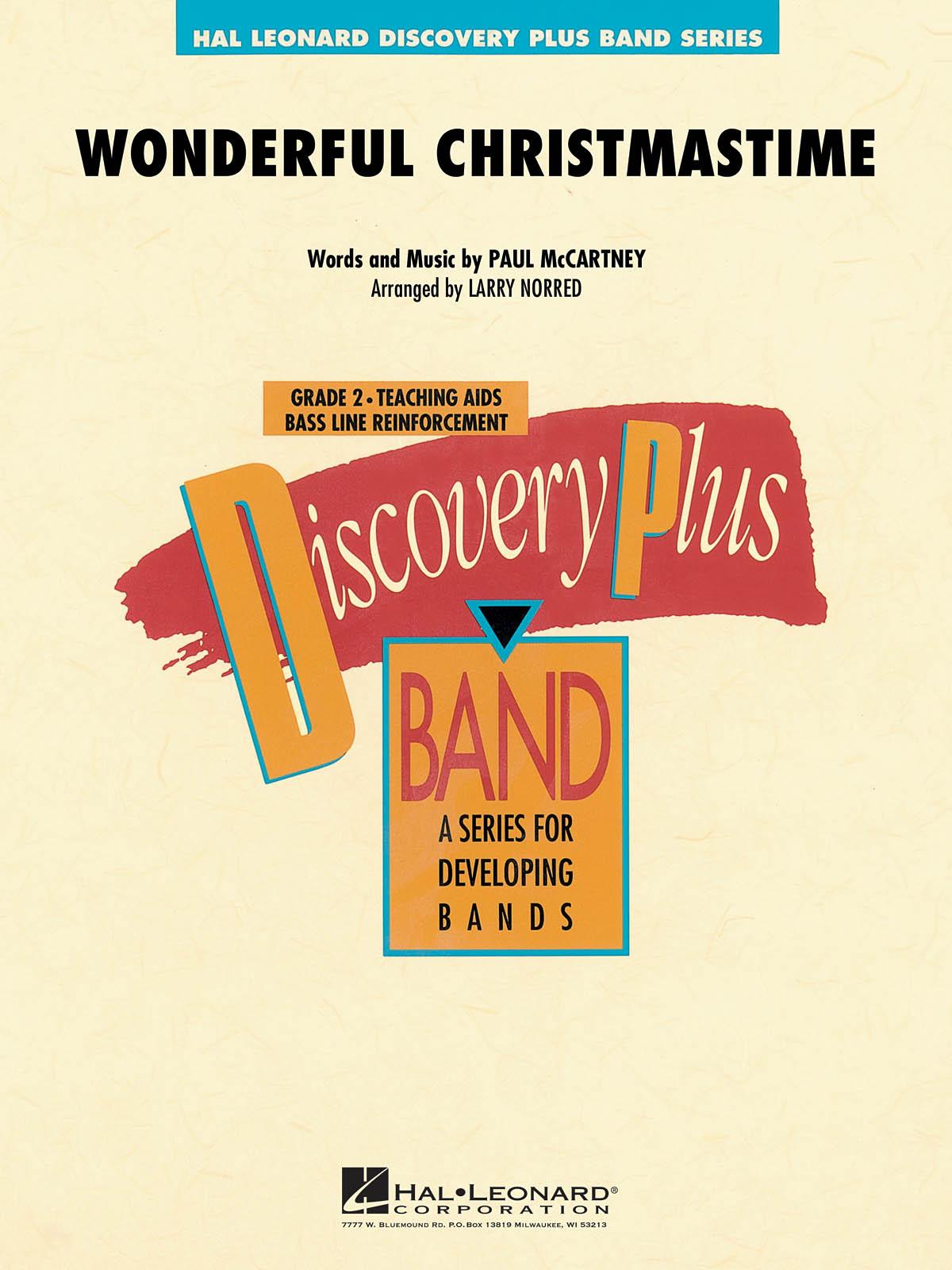 Paul McCartney: Wonderful Christmastime: Concert Band: Score & Parts