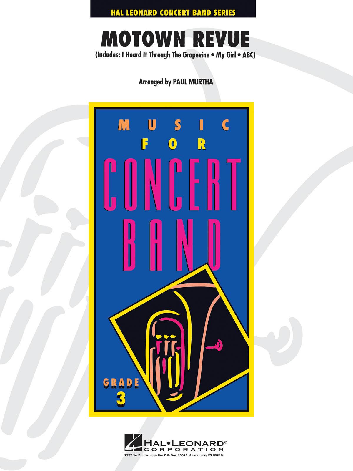 Motown Revue: Concert Band: Score and Parts