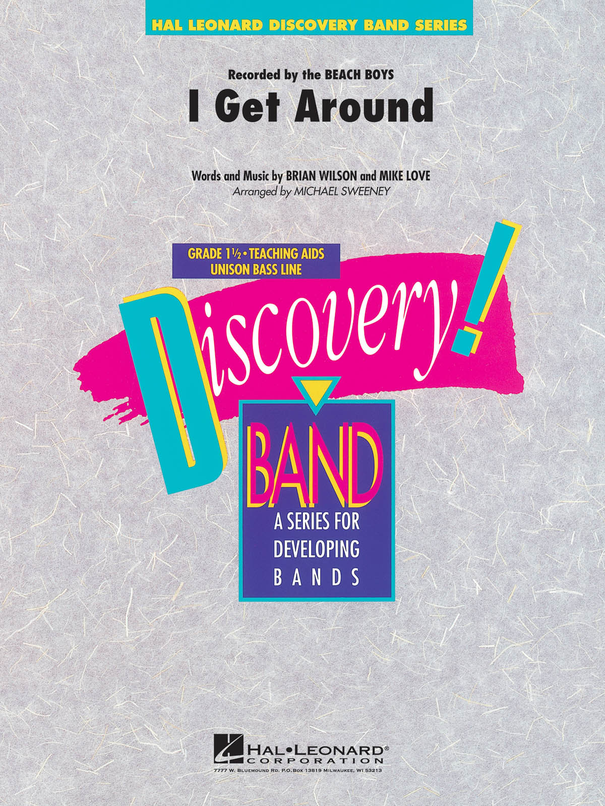 Brian Wilson Mike Love: I Get around: Concert Band: Score & Parts