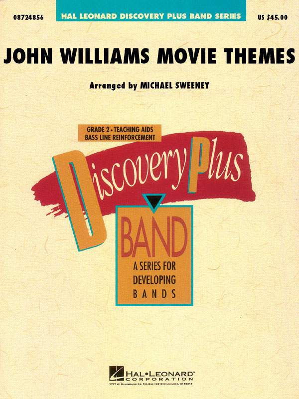 John Williams: John Williams: Movie Themes For Band: Concert Band: Score & Parts