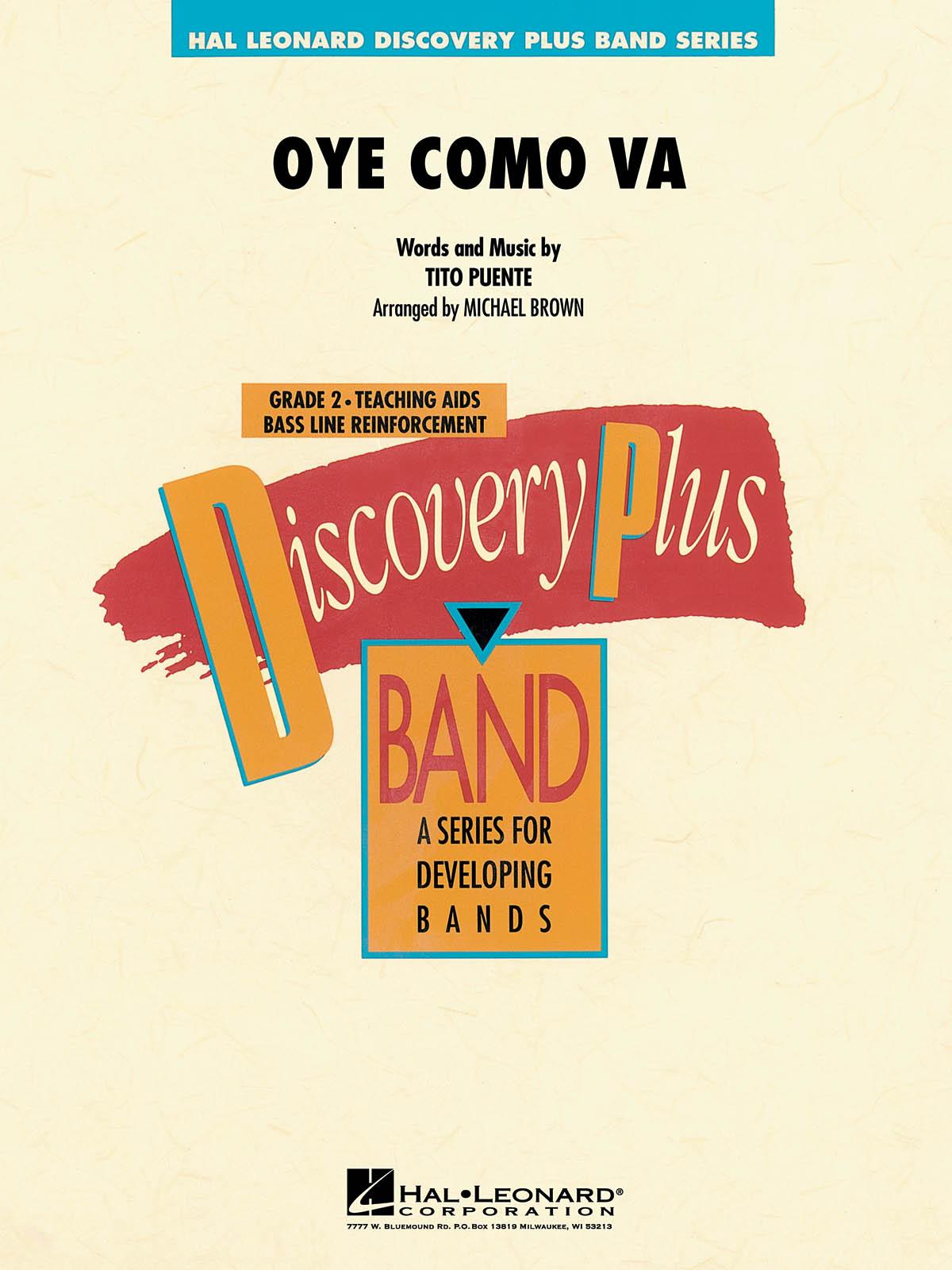 Tito Puente: Oye Como Va: Marching Band: Score & Parts