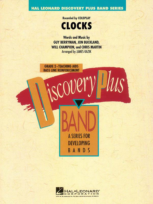 Chris Martin Guy Berryman Jon Buckland Will Champion: Clocks: Concert Band: