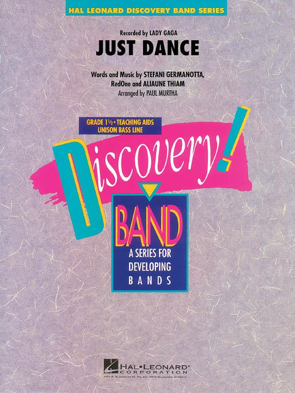 Aliaune Thiam  RedOne Stefani Germanotta: Just Dance: Concert Band: Score &