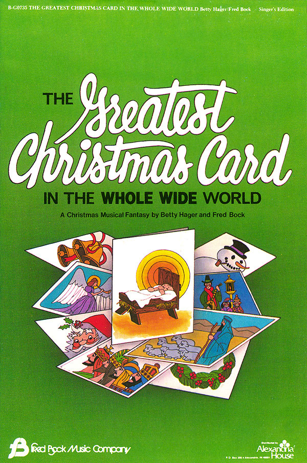Betty Hager Fred Bock: Greatest Christmas Card: Mixed Choir: Vocal Score