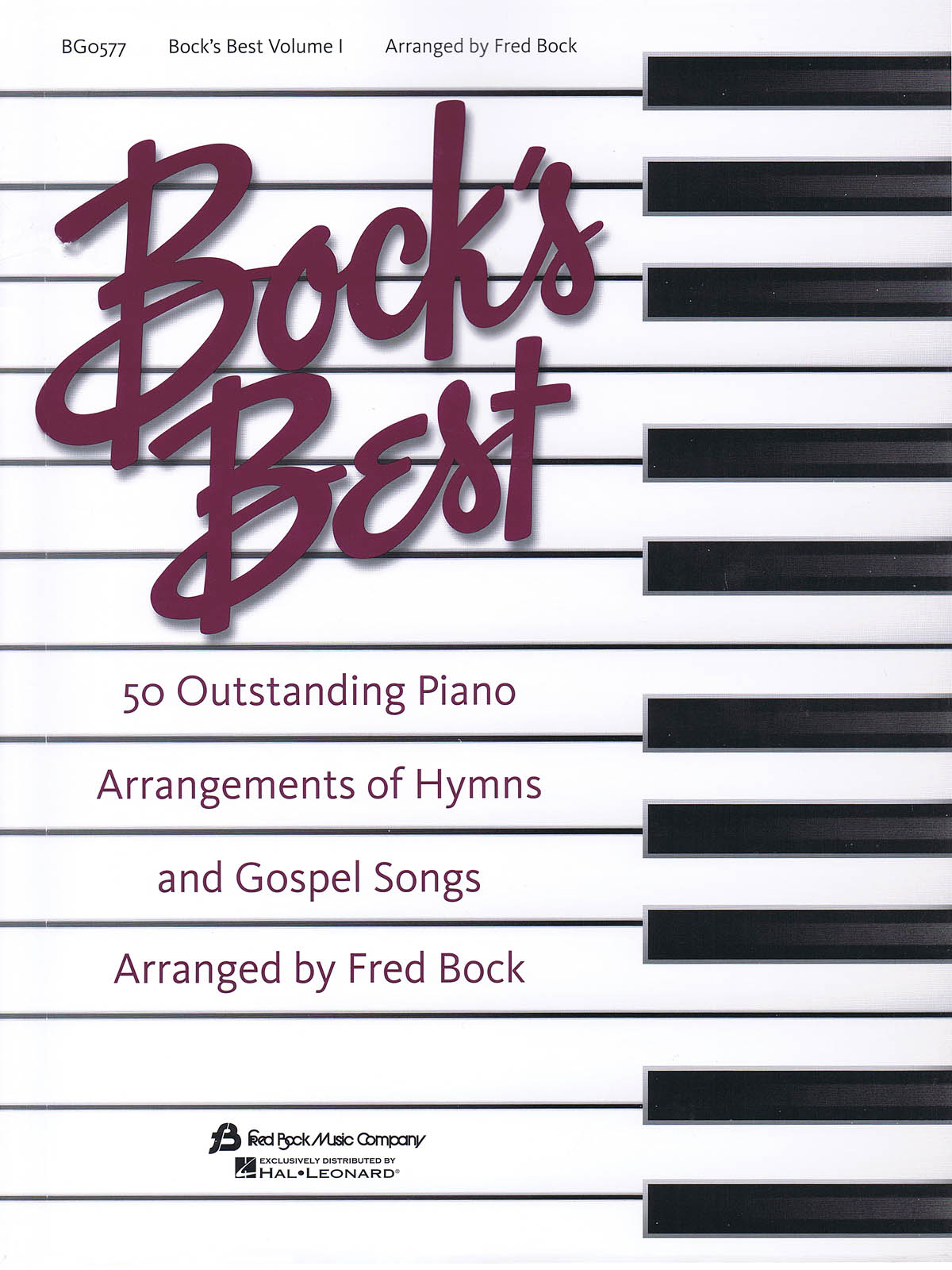 Fred Bock: Bock´s Best Piano #1: Piano: Instrumental Album