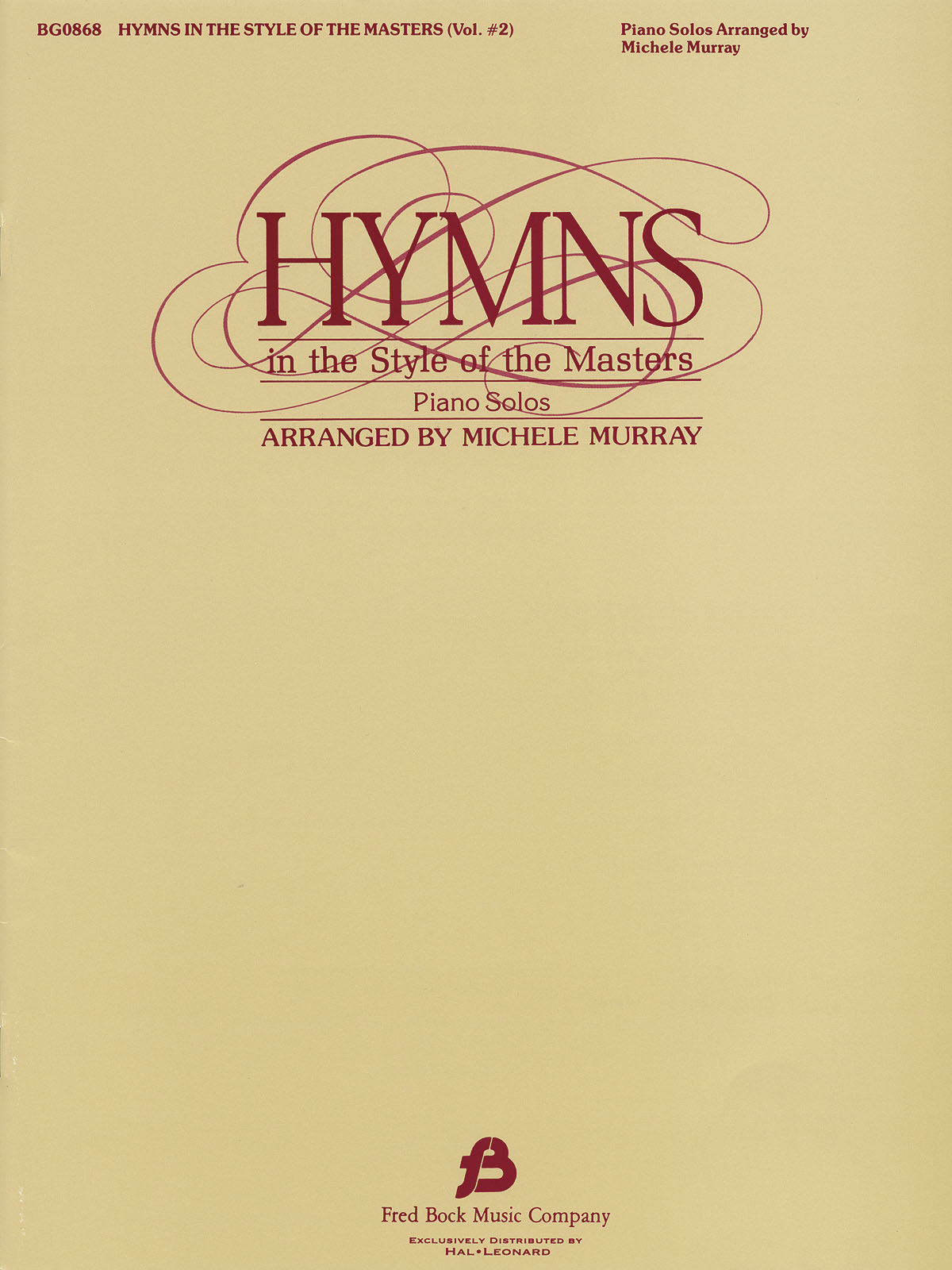 Michele Murray: Hymns in The Style of the Masters - Volume 2: Piano: