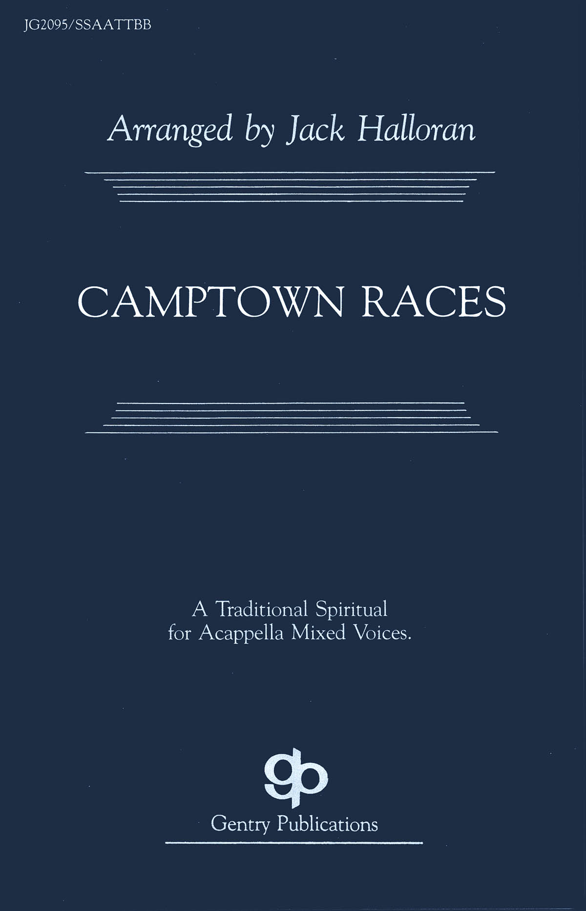 Stephen Foster: Camptown Races: SATB: Vocal Score