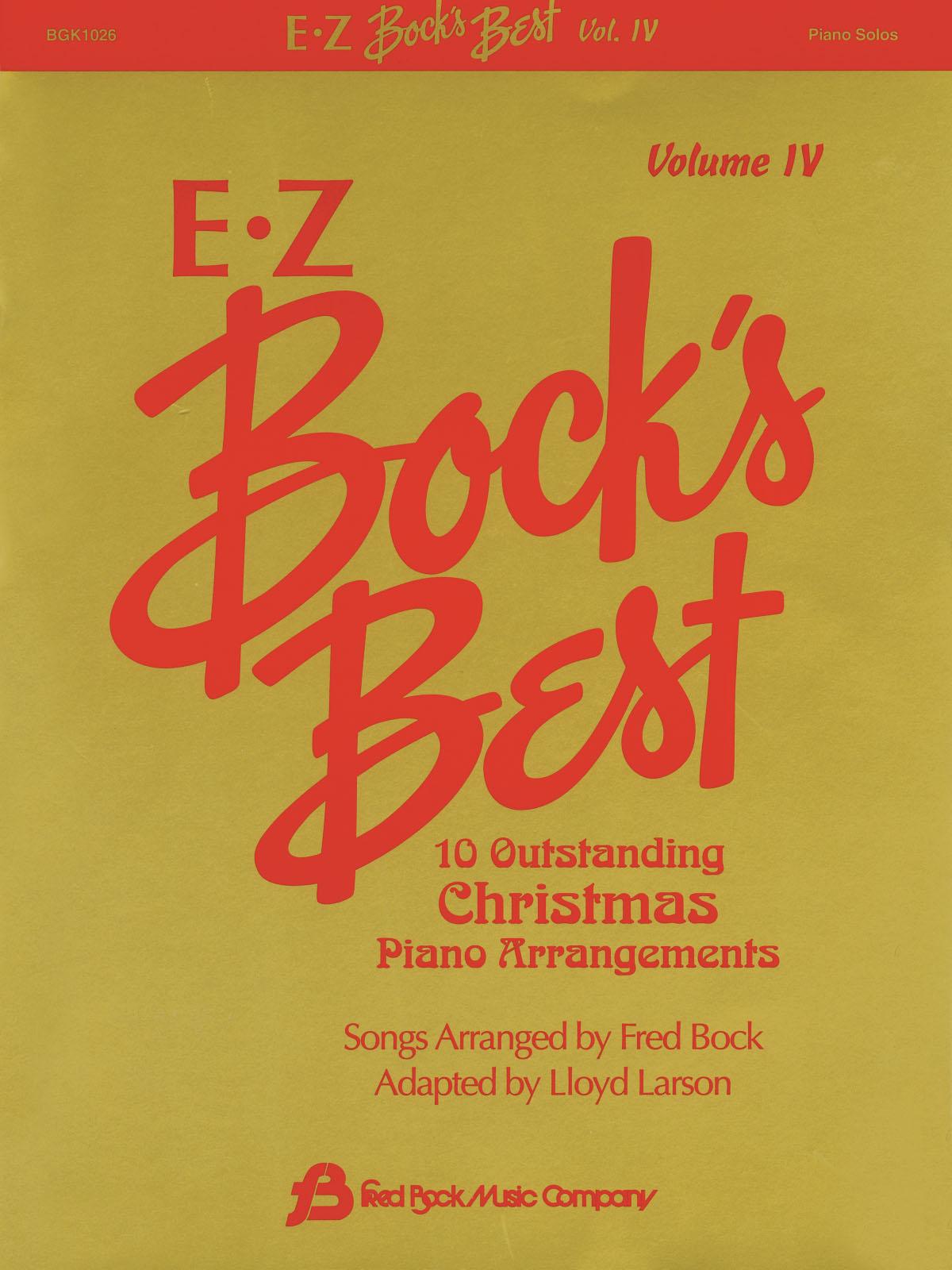 Ez Bock´s Best Volume 4 - Christmas: Piano: Instrumental Album