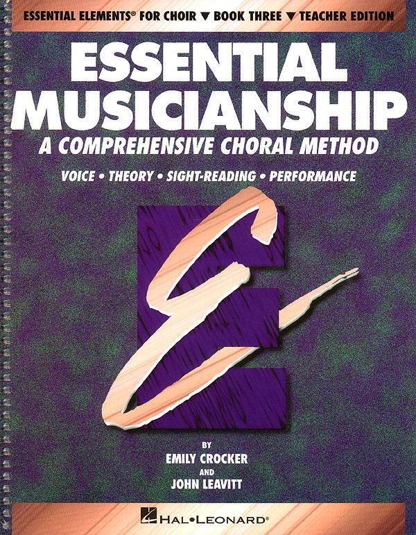 Essential Musicianship: Mixed Choir: Vocal Score