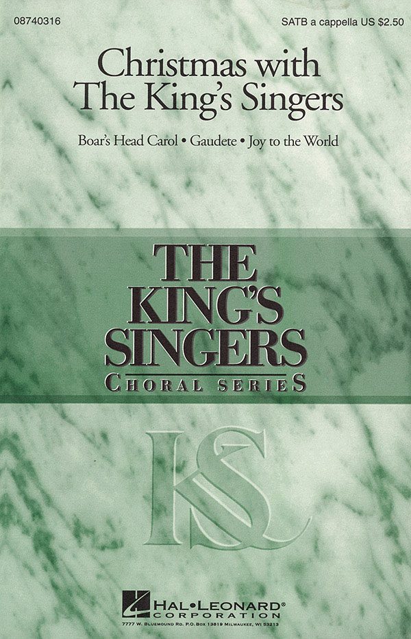 The King's Singers: Christmas with the King's Singers (Collection): SATB: Vocal