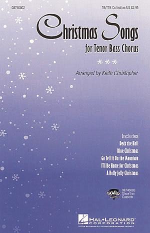 Christmas Songs Collection for Tenor Bass Chorus: TB: Vocal Score