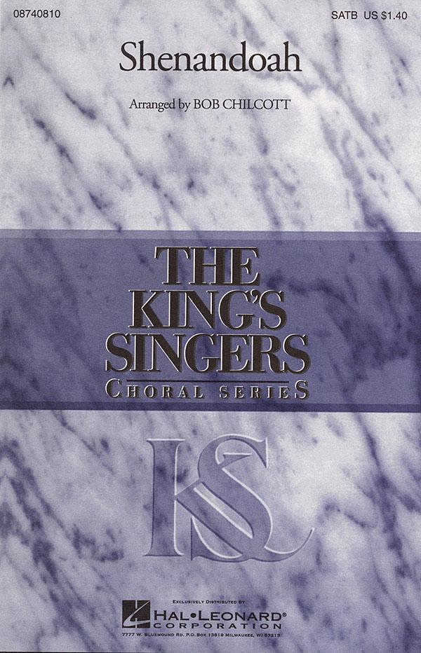 The King's Singers: Shenandoah: SATB: Vocal Score