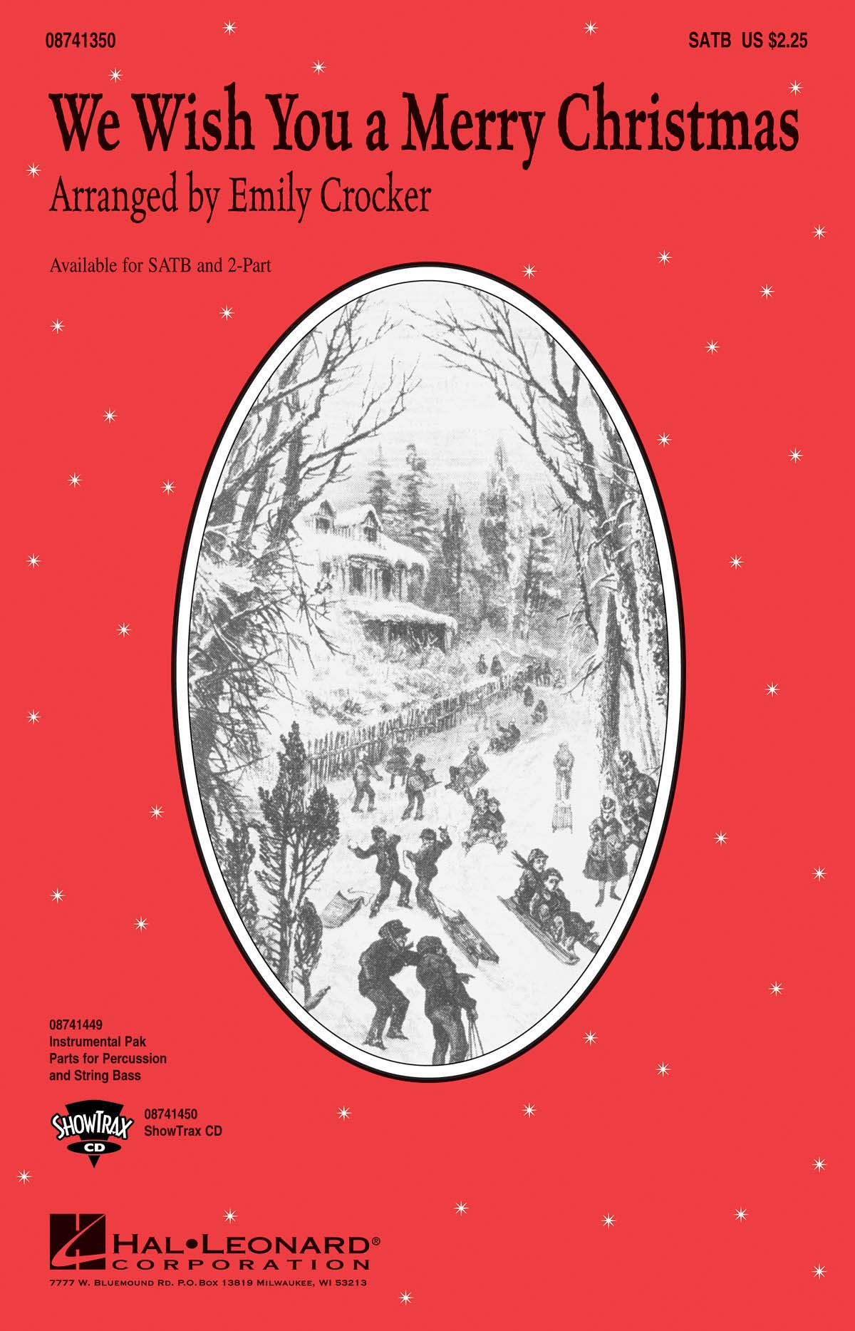 We wish you a merry Christmas: SATB: Vocal Score