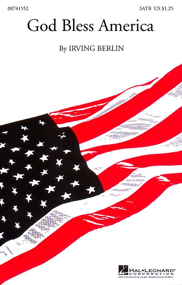 Irving Berlin: God Bless America«: SATB: Vocal Score