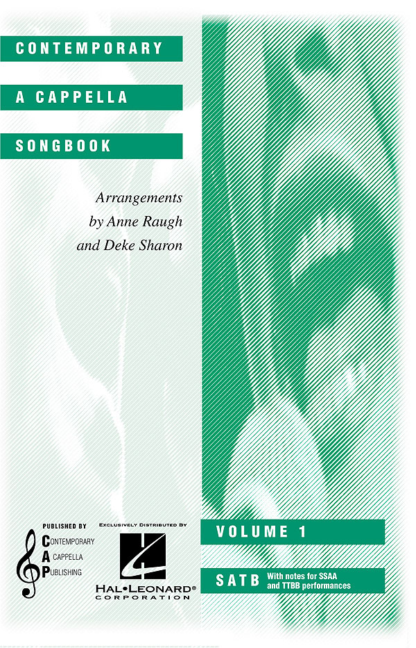Contemporary A Cappella Songbook Vol 1: SATB: Vocal Score