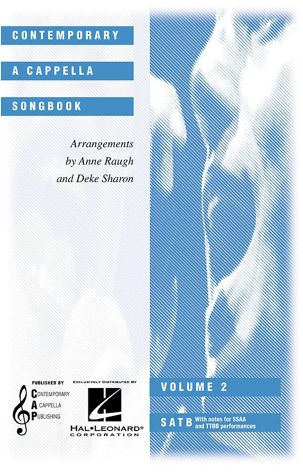 Contemporary A Cappella Songbook Vol2: SATB: Vocal Score